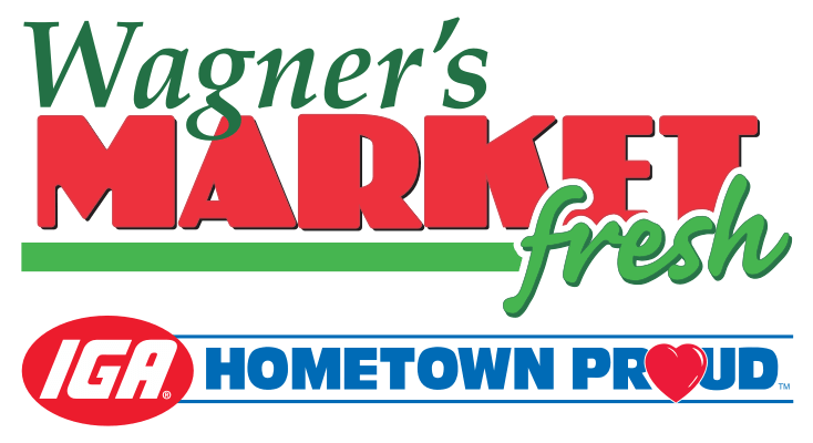 A theme logo of Wagner's Market